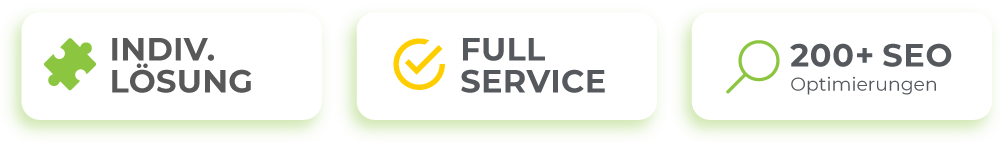 Wir bieten individuelle Lösungen und einen Rundum-Service